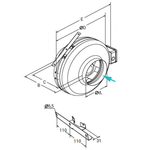 Lessar LV-FDC 100 М E15