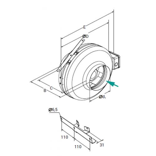 Lessar LV-FDC 160- ECO E15